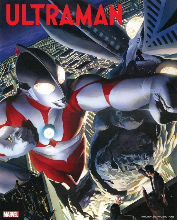 Capa é do desenhista Alex Ross